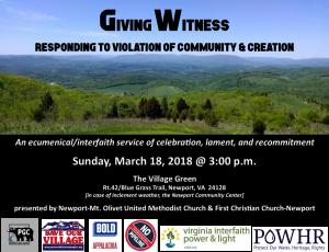 Giving Witness Digital Pic