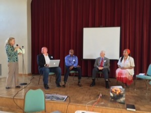 Rev Anders challenges panel to contemplate the Earth